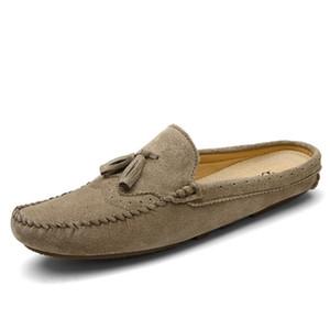 Rahat ayakkabı erkekler loafer'lar Deri Doug Düşük En KPOCCOBKN domuz derisi Gerçek Deri Casual Deri Shoes