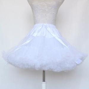 Abito da ballo sottoverskirt Cosplay Swing Abito corto Petticoat Lolita Petticoat Ballet Tutu Gonna rockabilly Crinoline per abito da sposa
