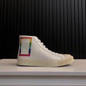 Üst Kalite 2019 Yeni Tasarımcı Lüks Erkek Dövme Sneakers çizme Moda Markası Günlük Ayakkabılar chaussures zapatos schuhe eğitmenler L26