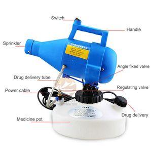 La desinfección portátil pulverizador Máquina 220V 4.5L ultra bajo de capacidad del dispositivo limpiador Esterilizador eléctrico del mosquito insecticida ULV en frío