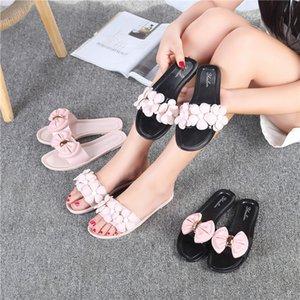 Hot Sale- 2020 new women's sandals summer flowers slippers women sandals students camellia flowers beach flat sandals
