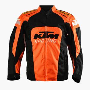 2020 Sıfır KTM Ceket Kaban Motokros Yarışı Windproof Su geçirmez Sıcak Binme Suit Shatter'ı dayanıklı Giyim Motosiklet Ceket Koruma