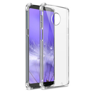 Shockproof Transparent Soft TPU Cover Case For Motorola MOTO G8 G6 Play G7 Power Z3 E5 Play G5S G4 E5 E4 Case