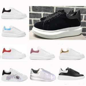 более размера Италия обувь Негабаритной обувь кожа белого кроссовок увеличить высоту прогулочной обувь Париж моды тапки женщины размером 36-45