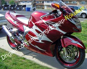 혼다 CBR1100 CBR1100XX CBR 1100XX 인기있는 오토바이 오토바이 페어링 애프터 마켓 키트 (사출 성형)의 경우 ABS 플라스틱 바람막이
