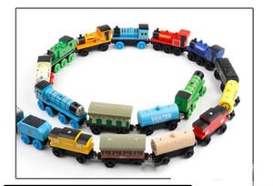 Modèle en bois Thomas Toy Train, Mini Taille, 59 Styles, Compatible avec piste Thomas train, pour la fête de Noël cadeau d'anniversaire, Ornement Accueil