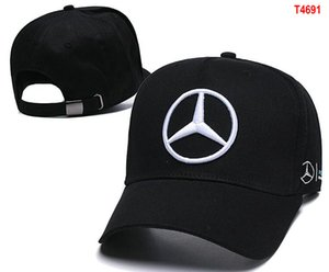 Vendita calda Berretto di Mercedes Benz osso gorras Snapback Hat F1 Champion Racing Sport AMG Automobile Trucker Uomini Golf Cap regolabile Cappello da sole 06