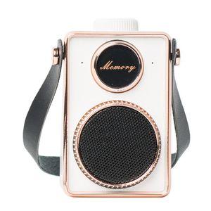 Оптовая Vintage Camera Style Mini Bluetooth Speaker Can DIY Outdoor For Bar Shop Studio беспроводной громкоговоритель