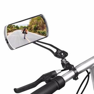 Fahrrad-Spiegel 360 Adjustable HD Acryl Minute elektrische Oberflächen Moto Moped Rückspiegel Bike Zubehör