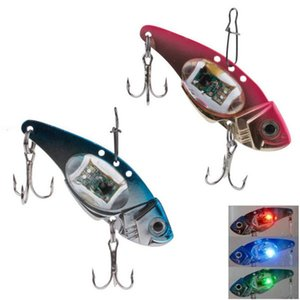 LED Light Fishing Lure Treble Hook Lámpara electrónica de pesca Bait Tackle Fish Lure Light Flashing Lamp