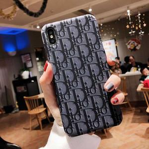 Für iPhone 11 Pro Max Klassische Telefonkasten Art und Weise PU-Leder-Abdeckung für Iphone X XS MAX XR 8 7 6S Plus-Gehäuse Vibrations Entwerferfall