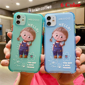 Cell Clear Silicone Phone Case For iPhone 11 Pro Max Case iphone XR Xs Max X 7 8 6S Plus Soft TPU Transparent Back Cover