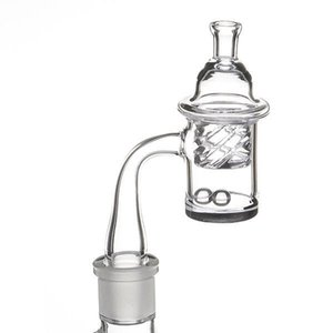 High Quality XL Flat Top Quartz Banger Nail Hookahs with 2.5mm Thick Bottom Domeless Bucket For Glass Water Pipe Bongs