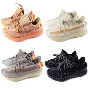 Adidas Yeezy 350 V2 Kids 2018 New Laufschuhe Infant Run Designer-Schuhe Kinder Sportschuh Outdoor Luxus Tennis Huaraches Trainer Kid Sneakers