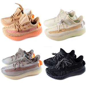 Adidas Yeezy 350 V2 Crianças 2018 Novos Sapatos de Corrida Infantil Run designer shoes Crianças esportes sapato ao ar livre luxry Tênis huaraches Formadores Kid Sneakers