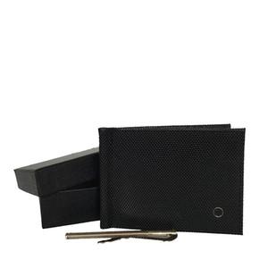 신규 사업 남자의 카드 홀더 이탈리아어 최고 머니 클립 상자와 함께 portefeuille 가죽 남성 지갑 브랜드 디자이너 카드 홀더 키 가방