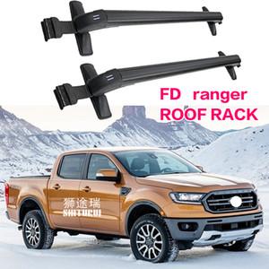 화물 상자 자전거 랙 스포츠 지붕화물 트렁크와 잠금 알루미늄 합금과 포드 레인저 2011+ 중장비는 바
