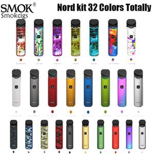 SMOK Nord Kit راتنج ألوان 1100mAh قرنة نظام عدة مع قدرة 3ML مع Nord 1.4ohm العادية 0.6ohm شبكة لفائف تصميم ممتاز 100 ٪ عبقرية