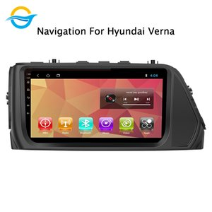Car Radio Multimedia Video Player Navigation GPS Android 8.1 9 inch support Mirror Link For Verna 2014-2020 car dvd