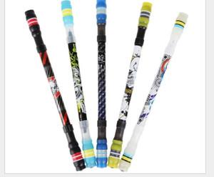 Drôle Rotating Pen Spinning Gaming Pen pour les enfants Les étudiants d'écriture Toy Stylos Kawaii Stylo à bille mignon Fournitures de papeterie école GD312