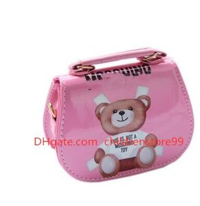 4 Colors Baby Bags Kids Brand Cartoon Jelly Messenger Bag Stylish Children Girl Shoulder Handbag Purse Girls Mini Candy Color Bag
