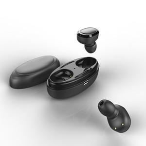 الجديد T12 TWS سماعات الأذن بلوتوث اللاسلكية البسيطة 5.0 ستيريو الرياضة سماعة سماعات مع الشحن مربع