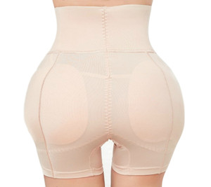 Big Butt Lifter Ass Roupa interior acolchoado Shaper Booty Panty Mulheres removível Inserções de cintura alta Controle Calcinhas Prayger CX200624