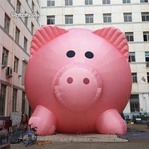 Открытого Парад Performance Giant Надувной Pink Pig животные шар ая / ая смазливая Реклама вдуваемого воздуха Pig Модель для проведения