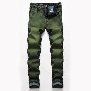 Mens jeans lunghi designer moda moda metà vita pantaloni skinny pantaloni matita pantaloni casual fresco Mens Apparel