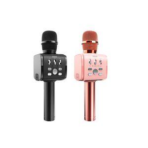Bluetooth-Karaoke-Mikrofon JR-MC3 Tragbarer drahtloser Karaoke Mic Lautsprecher-Maschine für iPhone Samsung PC Alle Smartphone