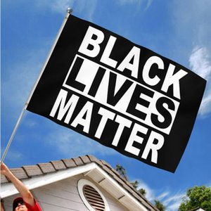 Hot selling Black lives matter flag I can't breathe flag get-together parade flag Festival and party parade supplies T9I00431