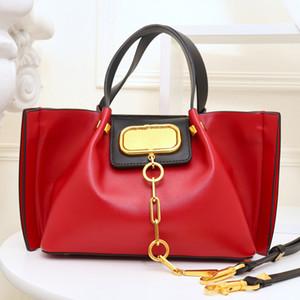 Señora compuesto bolsas de gran capacidad del paquete bolsas de la compra de alta calidad del cuero genuino bolso abierto del llano Dos tamaño de cuero genuino bolso del recorrido