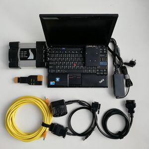 X201 I7 CPU 세대와 7백20기가바이트 SSD에 설치 최신 소프트웨어 V09.2020와 BMW ICOM NEXT A2 + B + C에 대한