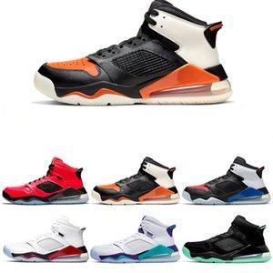 Горячая продажа Марс 27х Баскетбол обувь для мужчин Бред Top 3 Огонь красного винограда Разрушенные Backboard Инфракрасная 23 Citrus Дизайнер тренер Спорт Sneaker