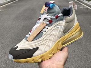 ترافيس سكوت س ENG تتفاعل مسارات صبار جاك الاحذية نجم الظلام عسلي رجل إمرأة حذاء رياضة الرياضة مع صندوق