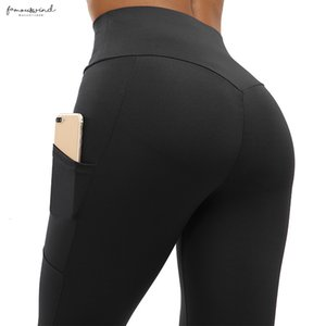 High Waist Casual Leggings Fitness Women Push Up Workout Legging With Pockets Patchwork Leggins Pants Women Fitness Clothing