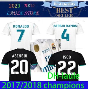 2017 2018 real madrid futbol forması 17 18 BALYA BENZEMA Modric Kroos Retro futbol forması Vintage ISCO Maillot Sergio Ramos RONALDO Camiseta