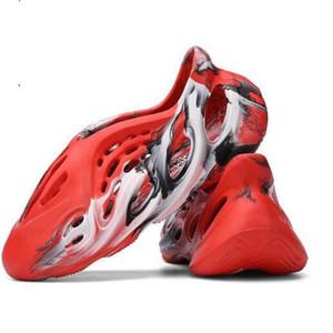 Les nouveaux enfants garçons filles enfants de jeunes kanye west 700 v3 chaussures coureur de chaussures Summer Beach trou Diapositives Bone Chaussures de