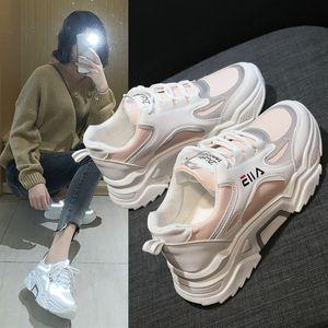 Корейская версия 20200525 Светоотражающих старого папу и новый стиль весны сетки с повышенной вентиляцией и утолщением