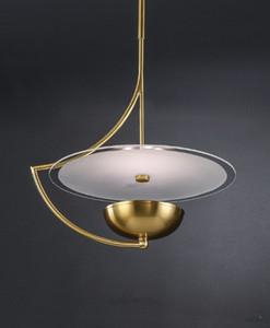 Ottone Post Modern Pendant Light scandinavo rame industriale Decor Hanglamp Deco domestico Kitchen Restaurant apparecchi di illuminazione LLFA