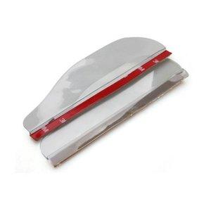 Toil 2 x yan pencere Car için PVC Saydam Ayna Yağmur Deflektör t deflektörleri
