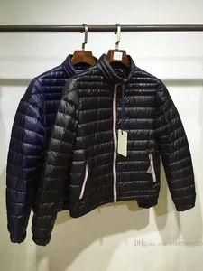 Outono e inverno New Mens Jackets Design Stand Collar Luz Alta Qualidade de Luxo White Goose Down Jacket Quente Confortável Down Jacket