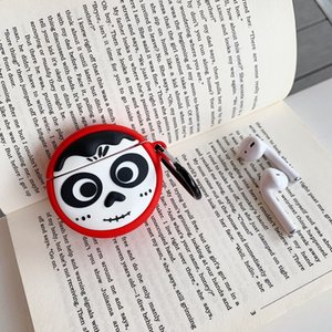 Fashion AirPods case inspirational cartoon character Bluetooth headset shell suitable for AirPods 1 2 case design new protective shell-1