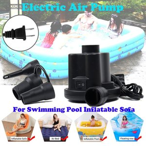 ISHOWTIENDA Electric Air Pump for Swimming Pool Inflatable Sofa Fast Inflator May.12