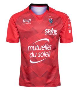 2020 프랑스 툴롱 럭비 저지 툴롱 대체 럭비 셔츠 홈 프랑스 럭비 리그 툴롱 저지 사이즈 S-5XL 빨간색