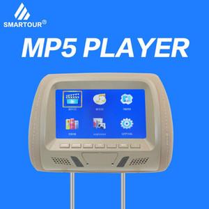 Smartour Factory Direct Headrest Monitor AV USB SD MP5 FM динамик дисплей 7 дюймовый TFT LED экран подушка монитор черный серый автомобиль