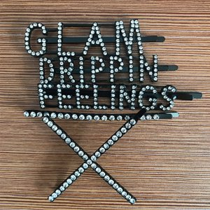 Bling Bling Rhinestone Letter Hair Clip Multistyle Women Letter Barrettes Fashion Hair Accessories Wholesale Price High Quality