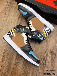 new 1 Basketball Shoes Athletics Sneakers Running Shoe For Women Sports Torch Hare Game Royal Pine Green Court With Box 36-47 Size