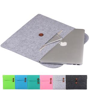 Notebook-Tasche 13,3 15,6 Zoll für macbook air 13 Fall Laptop Case Hülle für MacBook Pro 13-Leder-Frauen macbook pro Luft 11 12 13 15