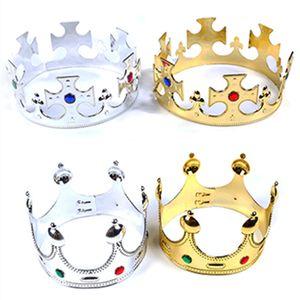 Корона День Рождения Дети Одеваются Пластиковые Творческий Шляпа Принц Принцесса Королева Имперские Короны Завод Прямых Продаж 2cya p1